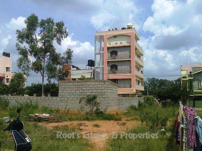 B Khata, BBMP 40x60 East Facing land plots for sale in Balaji Layout, Bangalore north