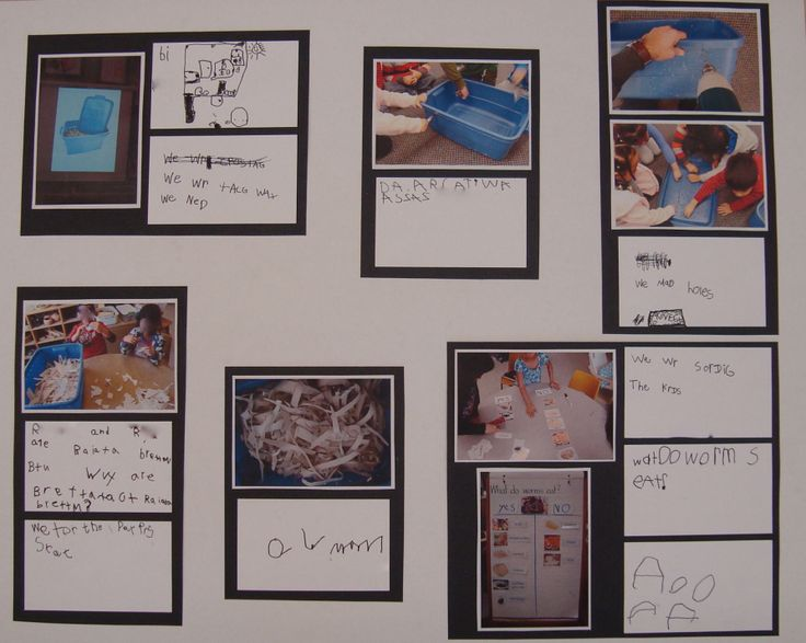 Child produced documentation