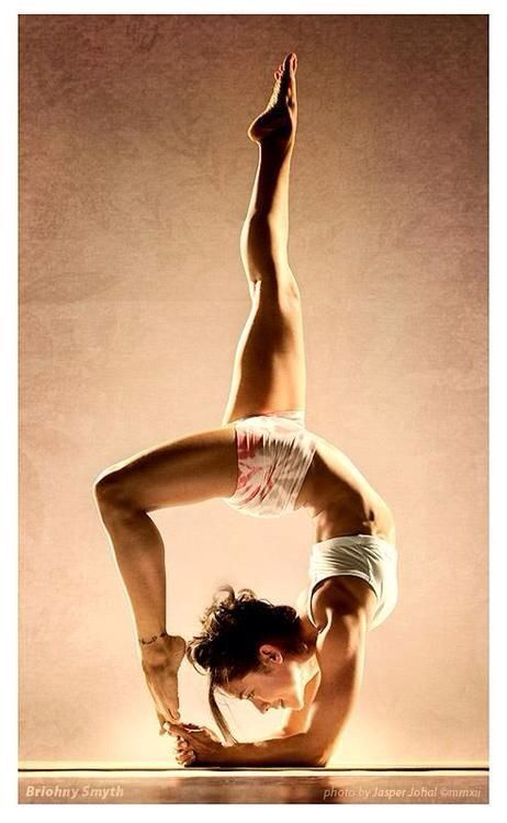 My goal is to become more flexible and take my body where it's never been before.