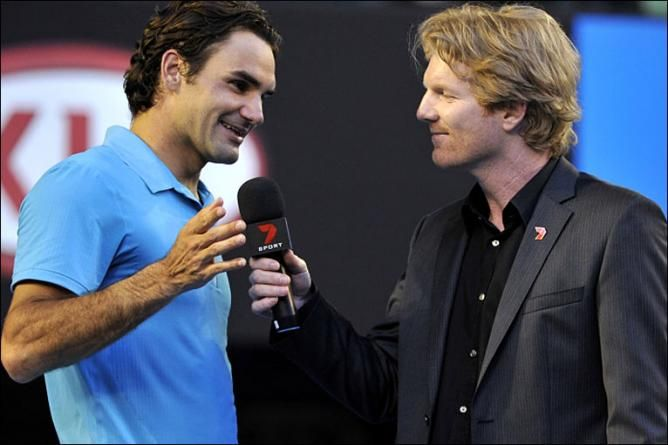 Jim Courier: ´Roger Federer Dances When Playing Tennis, Rafael Nadal Battles´