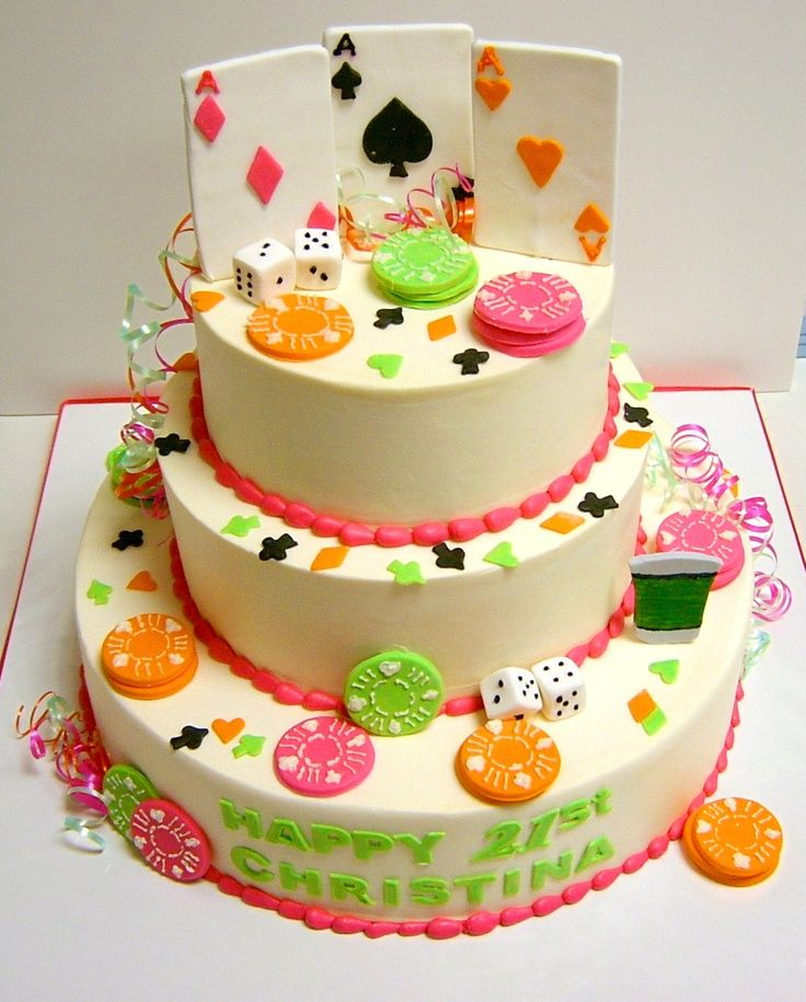 12 Best 21st Birthday Cake Ideas Images On Pinterest