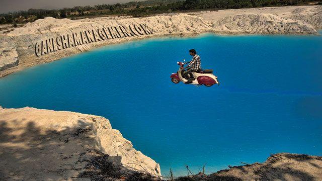 Soal Danau Air Biru Bangka Selatan ada ditangan dan pundak tanggungjawab warga desa itu sendiri. lakukan musyawarah apakah Aik Biru itu musibah atau justru