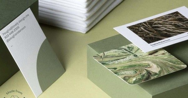 Printing company MOO brings back an old-fashioned way of making paper using fabric waste.