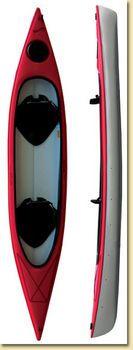 Used Tandem Kayak | Used Small Boats for sale, 2006 14ft Hurricane Santee Tandem kayak ...
