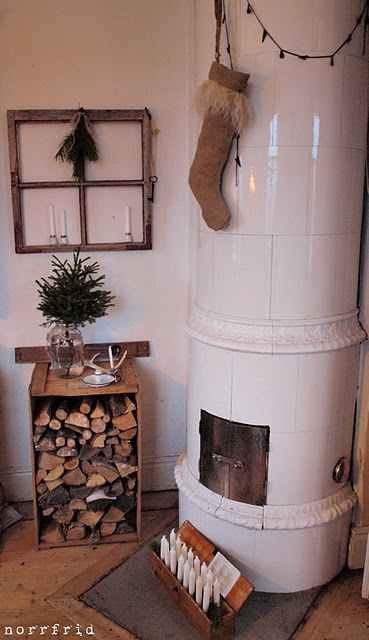 i like the idea of the wooden box to hold firewood