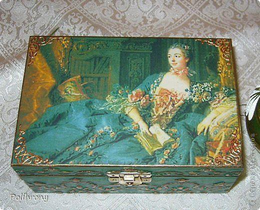 Декор предметов Декупаж Осенний сон и голубая мечта Бутылки стеклянные Коробки фото 25