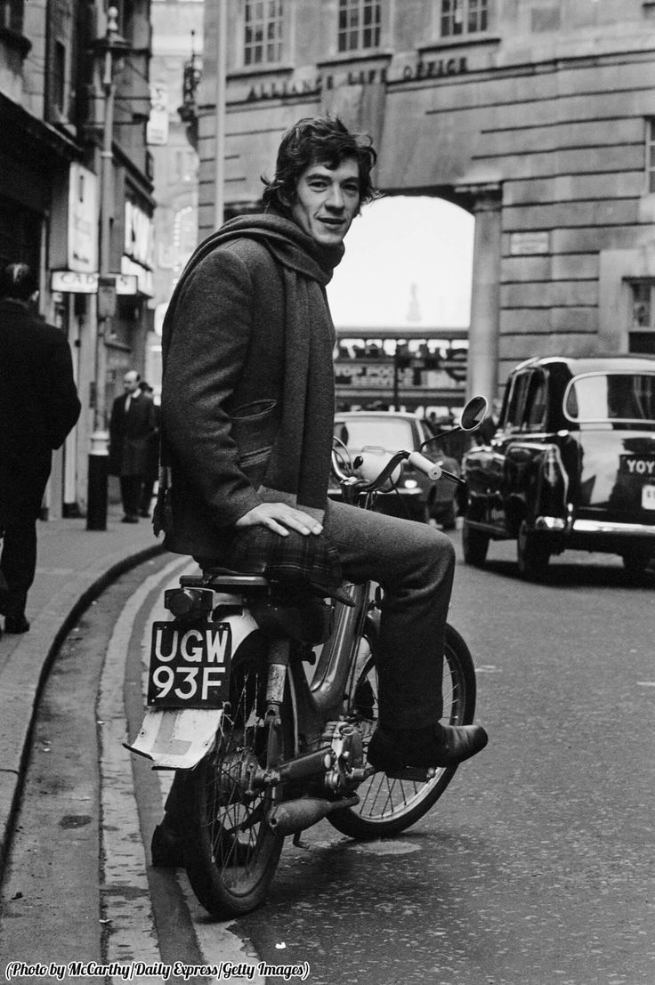 Ian McKellan, London, 1970s.