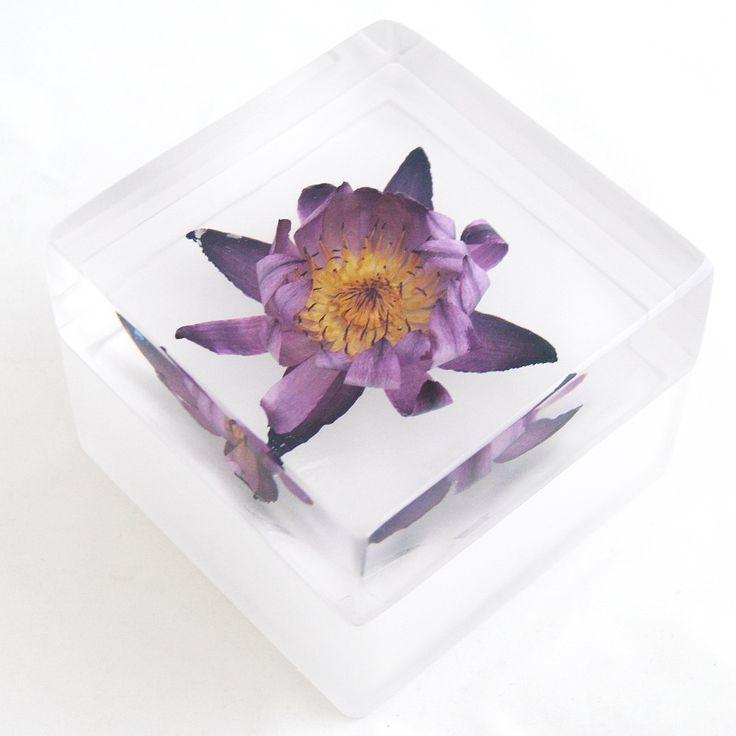 www.Beunique.sk - Handmade Chunky Lotus Jewelry Box