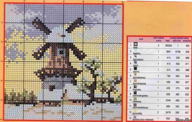схемы вышивки крестом миниатюры - Поиск в Google