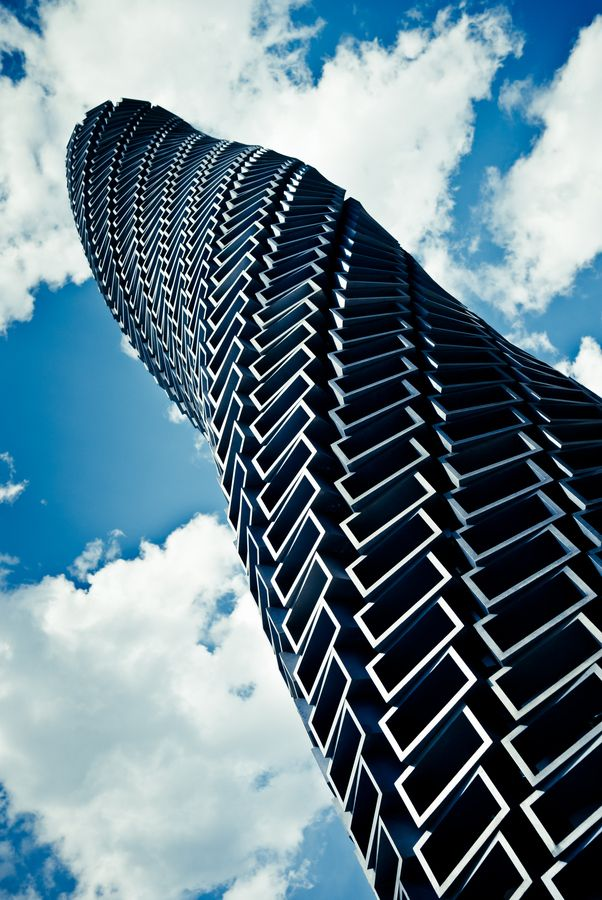 Is this the most phallic building or what?   Roppongi, Tokyo, Japan: photo by Keiichi Kaneko