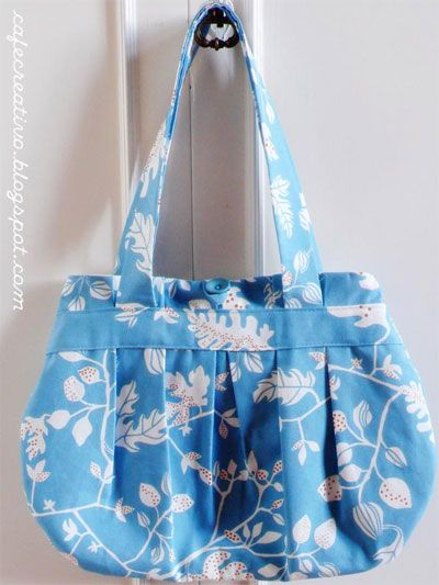 tutorial per cucire borse