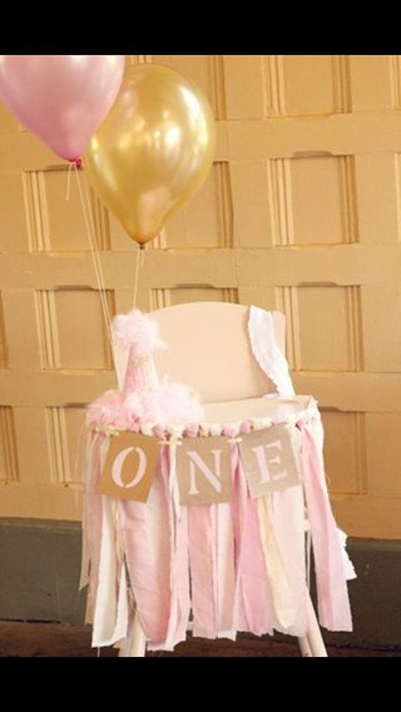 Baby's First Birthday/ High Chair Banner/ by SignsationalSayings