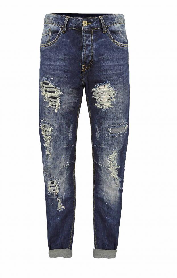 Ανδρικό παντελόνι τζιν με σκισίματα | Άνδρας - Jeans/Denim | Denim