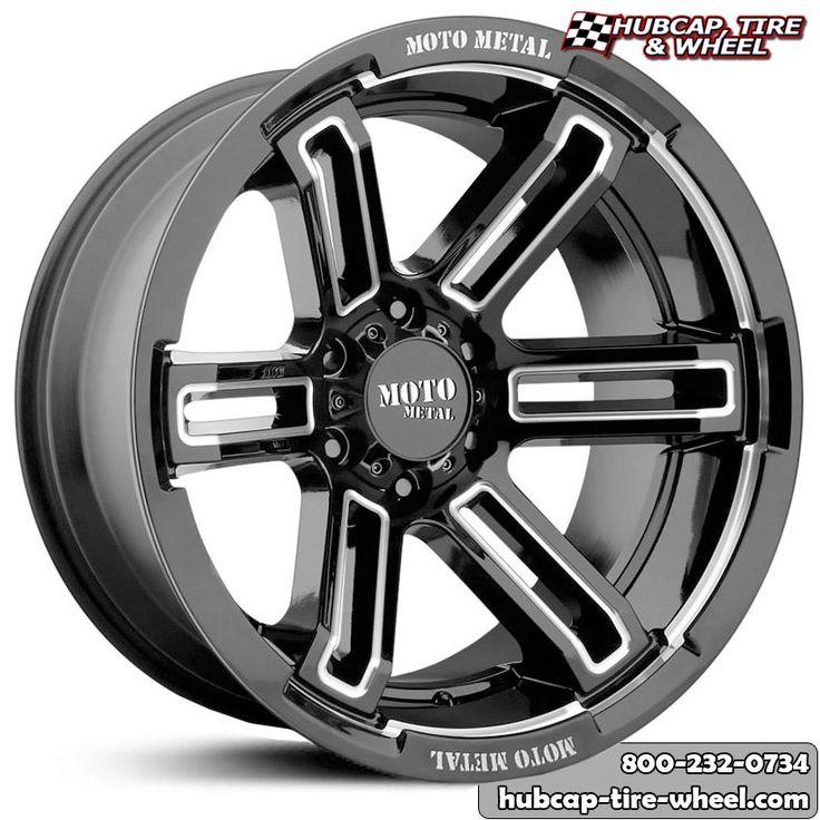 Moto Metal MO991 Rukus Gloss Black Milled Wheels Rims