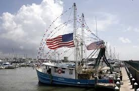FLYING THE COLORS! BLESSING OF THE FLEET, BILOXI, MS