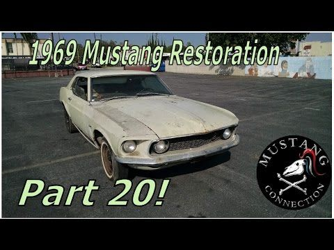 1969 Ford  Mustang Restoration New time for the New Lime Part 20 Mustang...