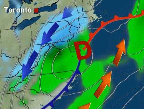 Nouvelles - Une bombe météo de New York à Gaspé - MétéoMédia