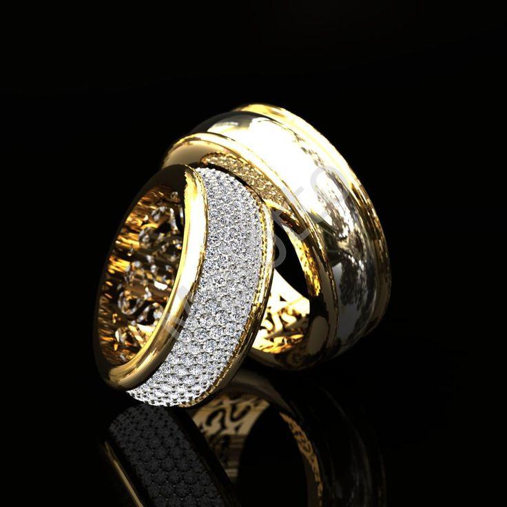 Дизайнерские и эксклюзивные обручальные кольца на заказ