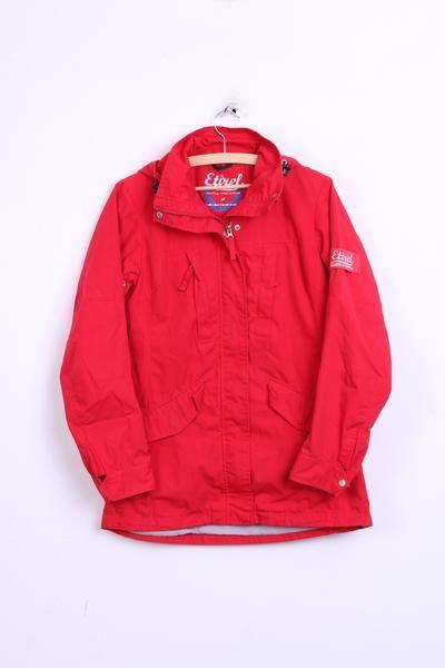 Etirel Womens 36 S Jacket Red Hood Campus Sportswear - RetrospectClothes