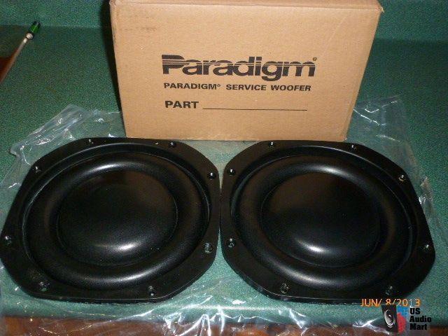 PARADIGM ULTRA CUBE 10 PASSIVE RADIATORS--NEW--WITH BOX--SALE PENDING TO DAN