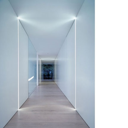 love the work of this architectural firm puur interieur architecten too often people just stick pot lights as a way to illuminate spaces, I love the detail of this corridor where lighting is treated as integral component of the design