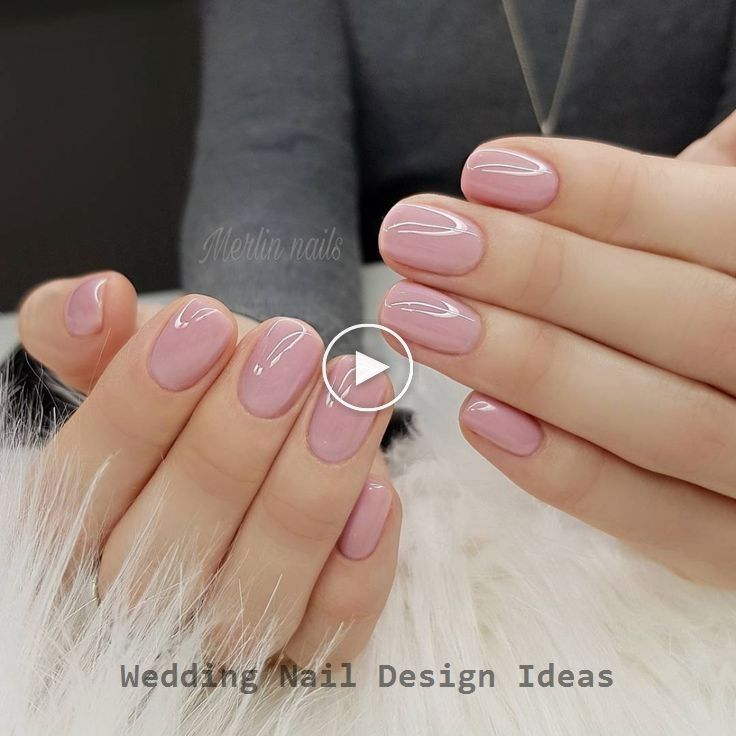 35 Simple Ideas for Wedding Nails Design 1 #naildesign #acrylicnails #acryliccoffinnails #coffinnails #nailideas