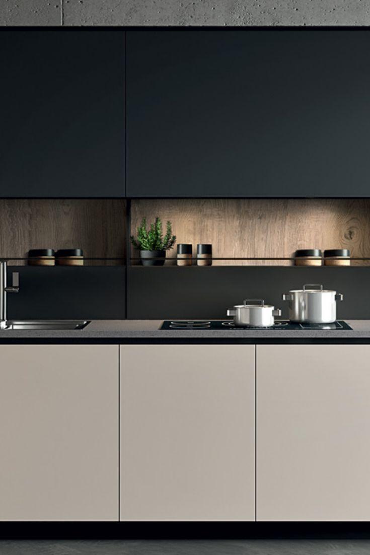 Het Greeploze Front Oogt Hypermodern En De Houten Apparatenkast Geeft Het Geheel Een Klassieke Touch Korto In 2020 Kitchen Room Design Modern Kitchen Kitchen Interior