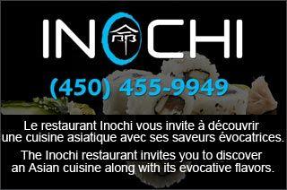 GroupVaudreuil:  Cuisine Asiatique - Restaurant Inochi Vaudreuil  Le Restaurant Inochi vous invite à découvrir la cuisine asiatique authentique. Restaurant Inochi vous offrira une impression positive et durable.  http://www.groupvaudreuil.com/restaurant/cuisine-asiatique-restaurant-inochi-vaudreuil