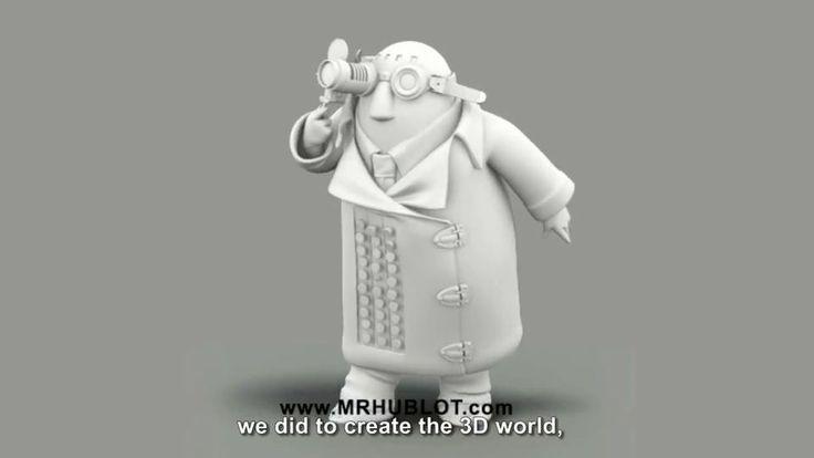 'Mr. Hublot' Characters Concept Art, Art of the Oscar-Nominated Shorts Film 'Mr. Hublot', 'Mr. Hublot': The Art of the Oscar-Nominated Short...