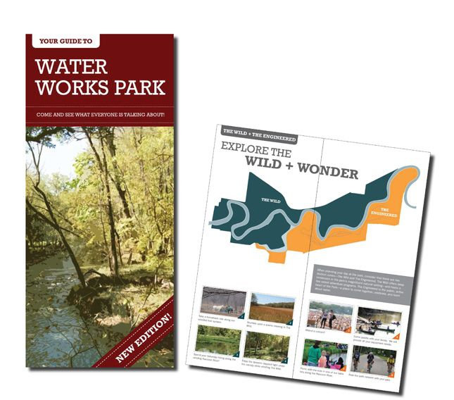 Sasaki: Guide Book for the Design of Water Works Park, Des Moines, IA.    A great example of interpreting a design to the public!
