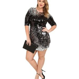 holiday plus size dress - Sizing