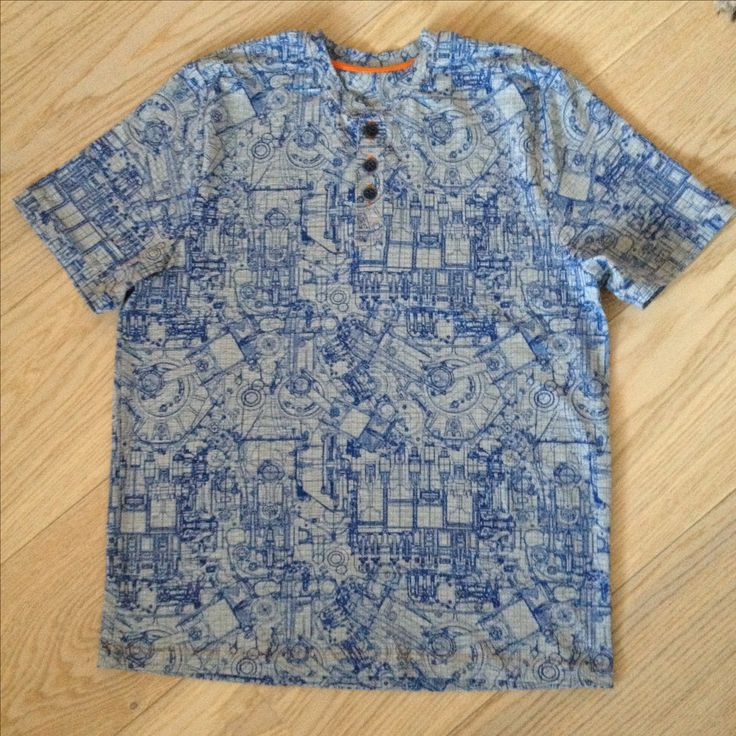Eugene t-shirt, Seamwork