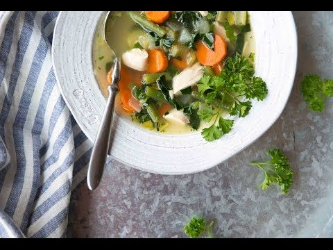 Learn how to make the most delicious, nourishing soup from a whole chicken and a variety of vegetables with this simple video. This recipe is part of our Elimination Diet and can be used during phase 2 and phase 3.
