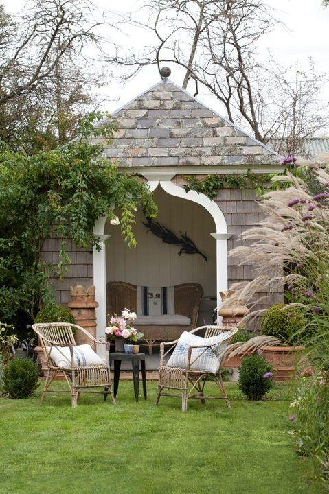 English garden folly rotundas and follies pinterest for English garden pool