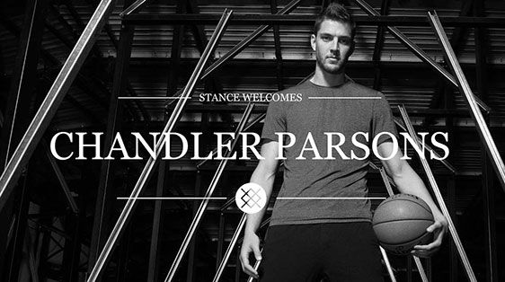 Stance Welcomes Chandler Parsons