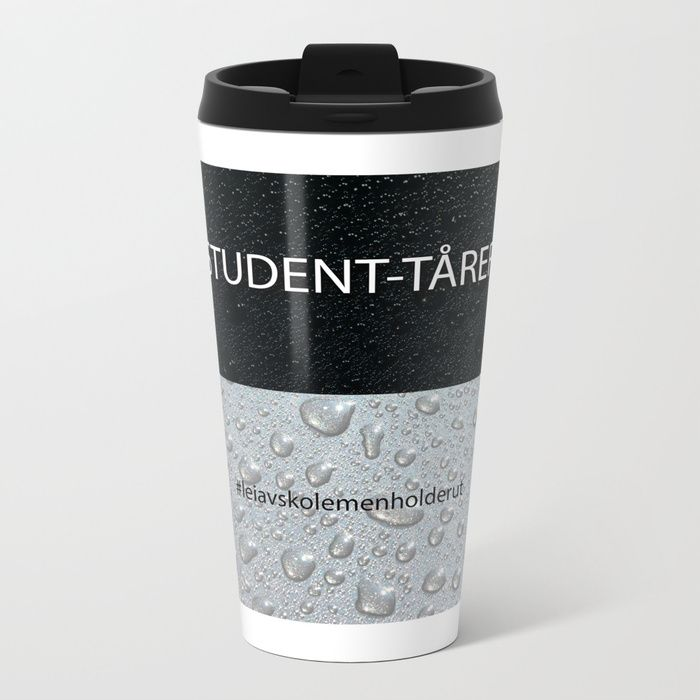 Talk about steely good looks. Our stainless steel Metal Travel Mugs feature wraparound design and are double-walled to keep drinks hot (or cold). They're pretty much indestructible, fit in almost any size cup holder, and look so much cooler than a Thermos. - 15oz capacity - Lightweight stainless steel construction - Wraparound artwork - Double-walled to keep drinks hot or cold - Snap-on lid to minimize spills