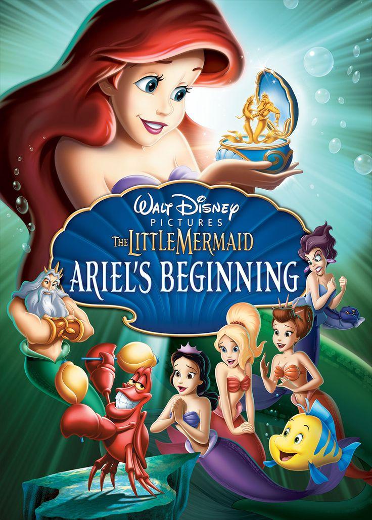 *THE LITTLE MERMAID III: Ariel's Beginning, 2008 DVD cover.