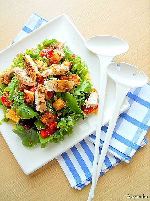 Ο Γάλλος σεφJean Charles Metayer προτείνει μια πεντανόστιμη με δαμάσκηνα σαλάτα...