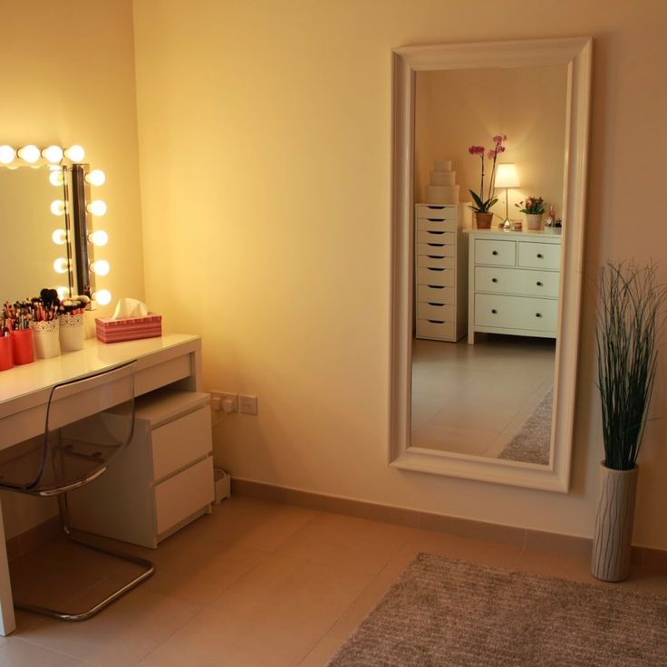 Cozy Vanity Makeup Table with Lights