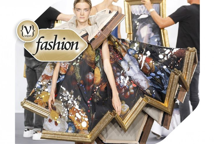 Art in Art for the Haute Couture collection of Viktor & Rolf