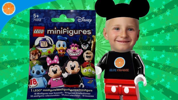 LEGO minifigures Disney collection. Blue Orange