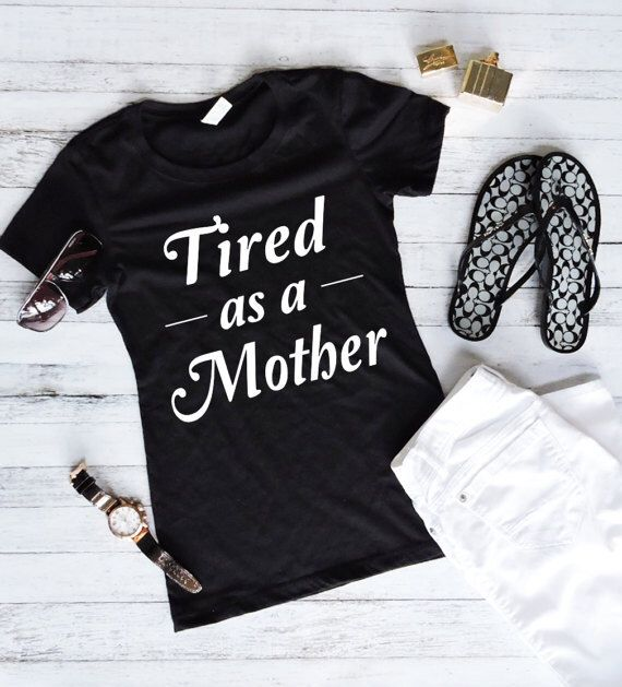 Shirts With Sayings- Workout Tank Top - Workout Shirt - Tacos Shirt - Funny Shirts - Tired As A Mother by Fitology on Etsy https://www.etsy.com/listing/515218859/shirts-with-sayings-workout-tank-top