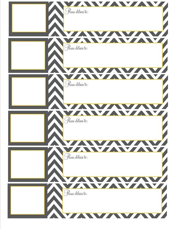 16 best Envelope Wrap Labels images on Pinterest Paper, Love and - free printable shipping labels