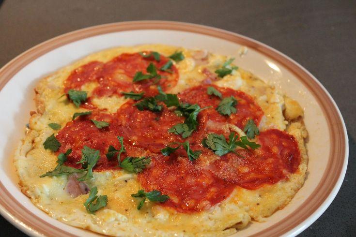 Pepperoni Omelet