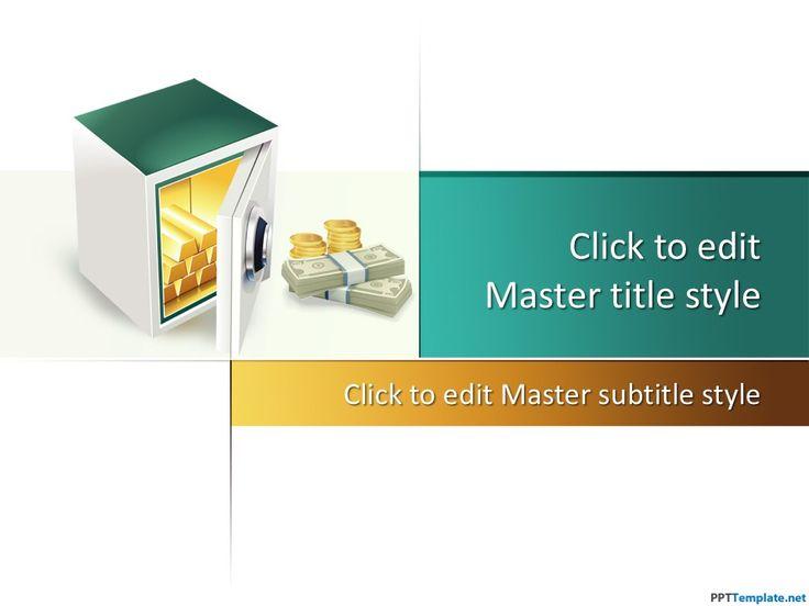 Free Safe PPT Template #safe #money #powerpoint #presentation