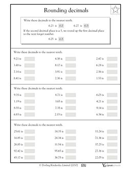 25+ best ideas about Rounding decimals worksheet on Pinterest ...