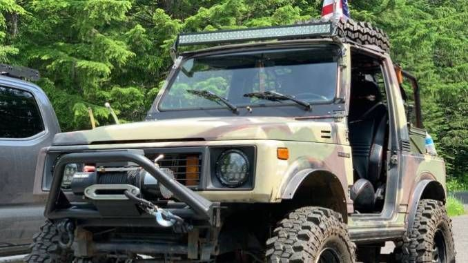 1988 Suzuki Samurai Hardtop For Sale In Rainier Or Suzuki