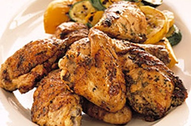 Grilled Tuscan Chicken with Rosemary and Lemon