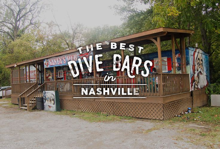 The true key to an essential Nashville dive? Good music, in any form.