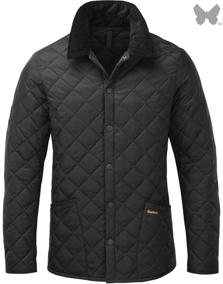 Barbour Men's Heritage Liddesdale Jacket – Black MQU0240BK11